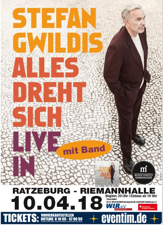 Stefan Gwildis und Band in Ratzeburg